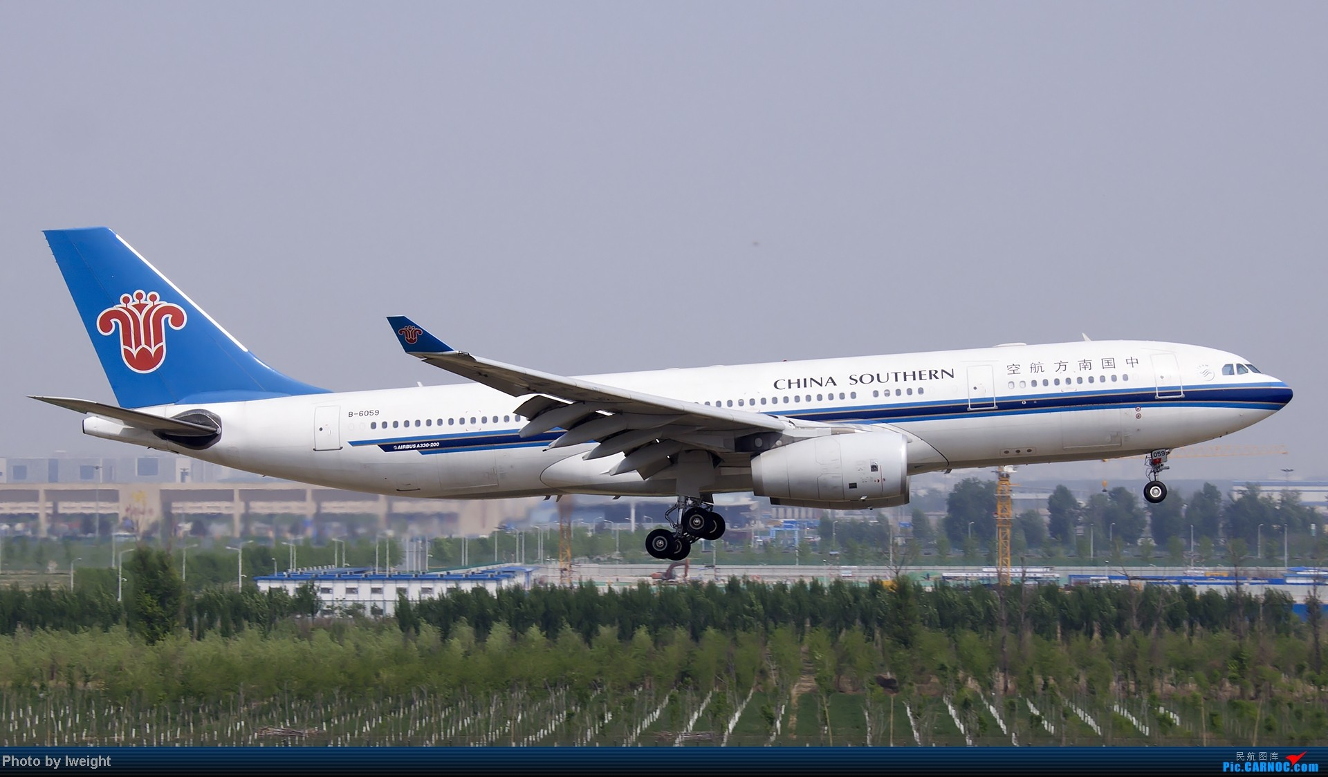Re:[原创]错过了卡航的巴塞罗那号,只有这些大路货了,泪奔啊 AIRBUS A330-200 B-6059 中国北京首都机场