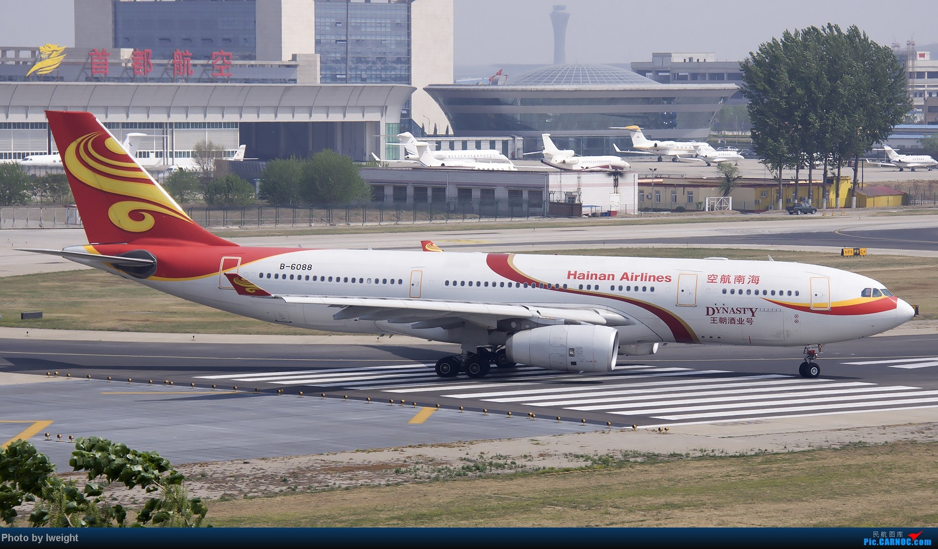 Re:[原创]错过了卡航的巴塞罗那号,只有这些大路货了,泪奔啊 AIRBUS A330-200 B-6088 中国北京首都机场