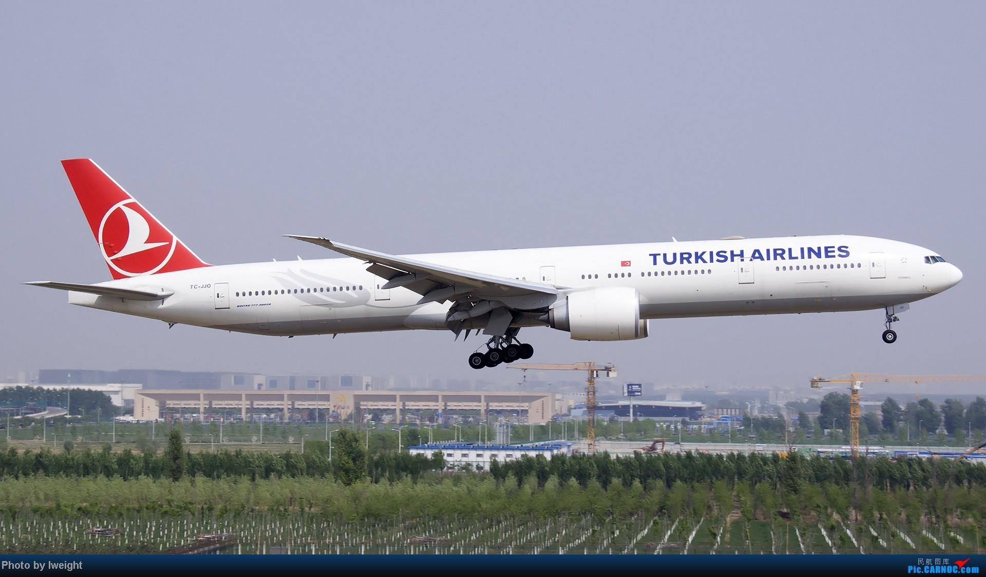 Re:[原创]错过了卡航的巴塞罗那号,只有这些大路货了,泪奔啊 BOEING 777-300ER TC-JJO 中国北京首都机场