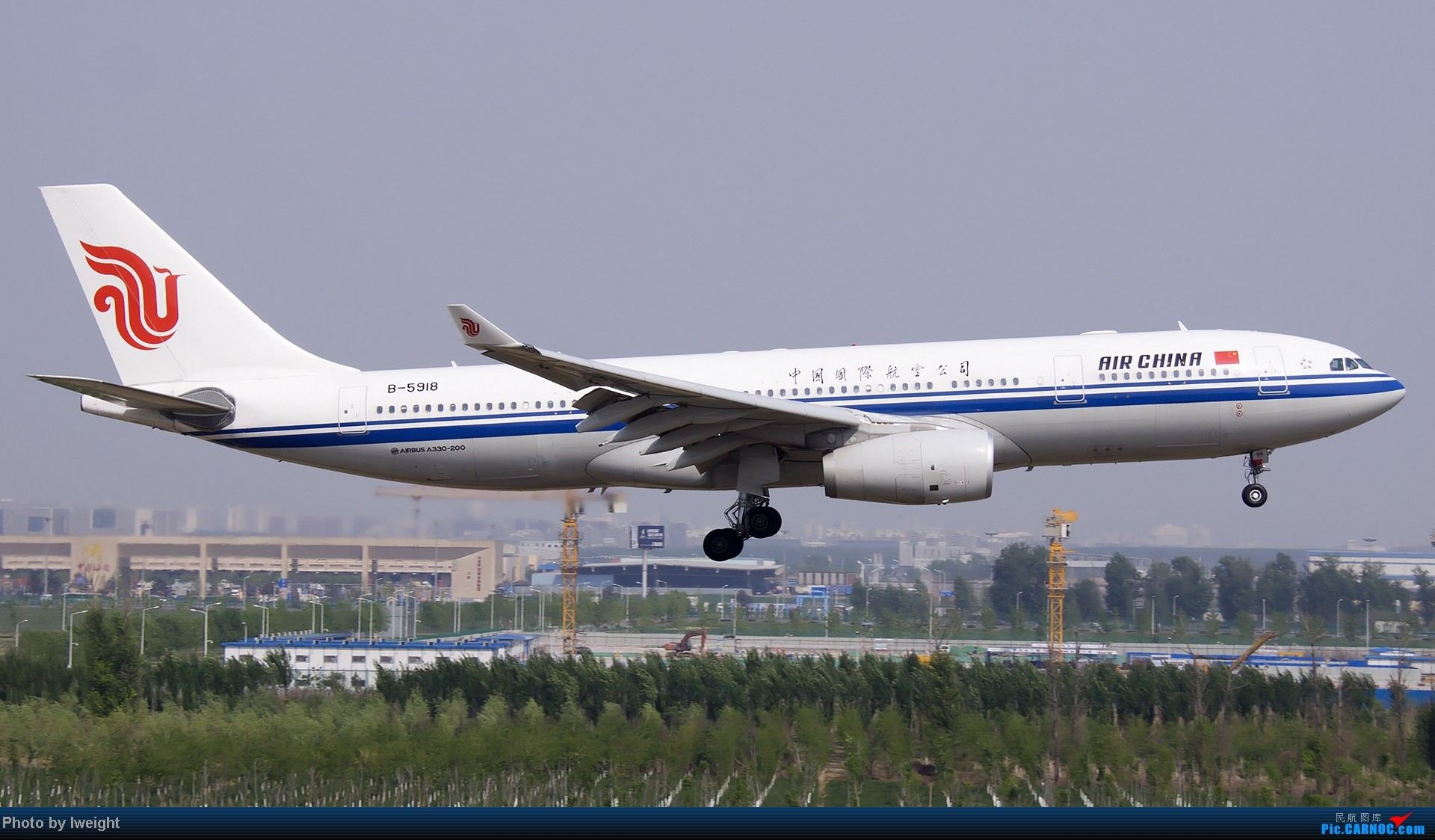 Re:[原创]错过了卡航的巴塞罗那号,只有这些大路货了,泪奔啊 AIRBUS A330-200 B-5918 中国北京首都机场