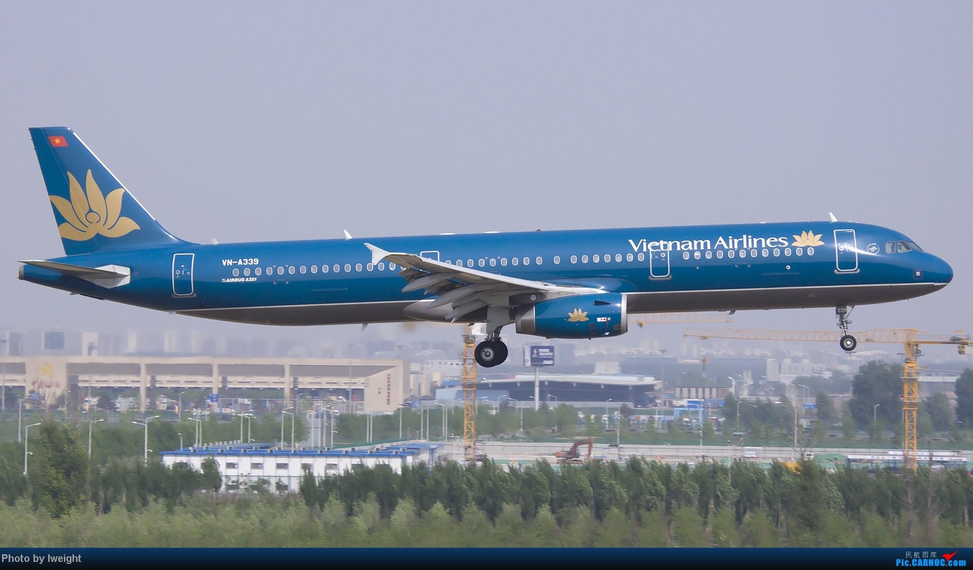Re:[原创]错过了卡航的巴塞罗那号,只有这些大路货了,泪奔啊 AIRBUS A321-200 VN-A339 中国北京首都机场