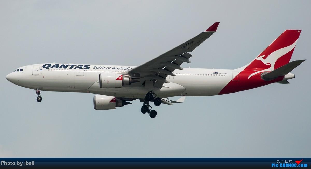 Re:[原创]【SIN樟宜拍机】从ATR到Airbus再到Boeing,包括788,748,更有首都航空! AIRBUS A330-203 VH-EBH 新加坡樟宜机场