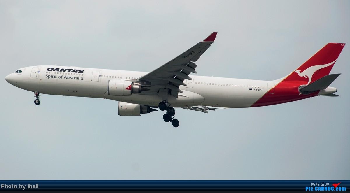 Re:[原创]【SIN樟宜拍机】从ATR到Airbus再到Boeing,包括788,748,更有首都航空! AIRBUS A330-303 VH-QPJ 新加坡樟宜机场
