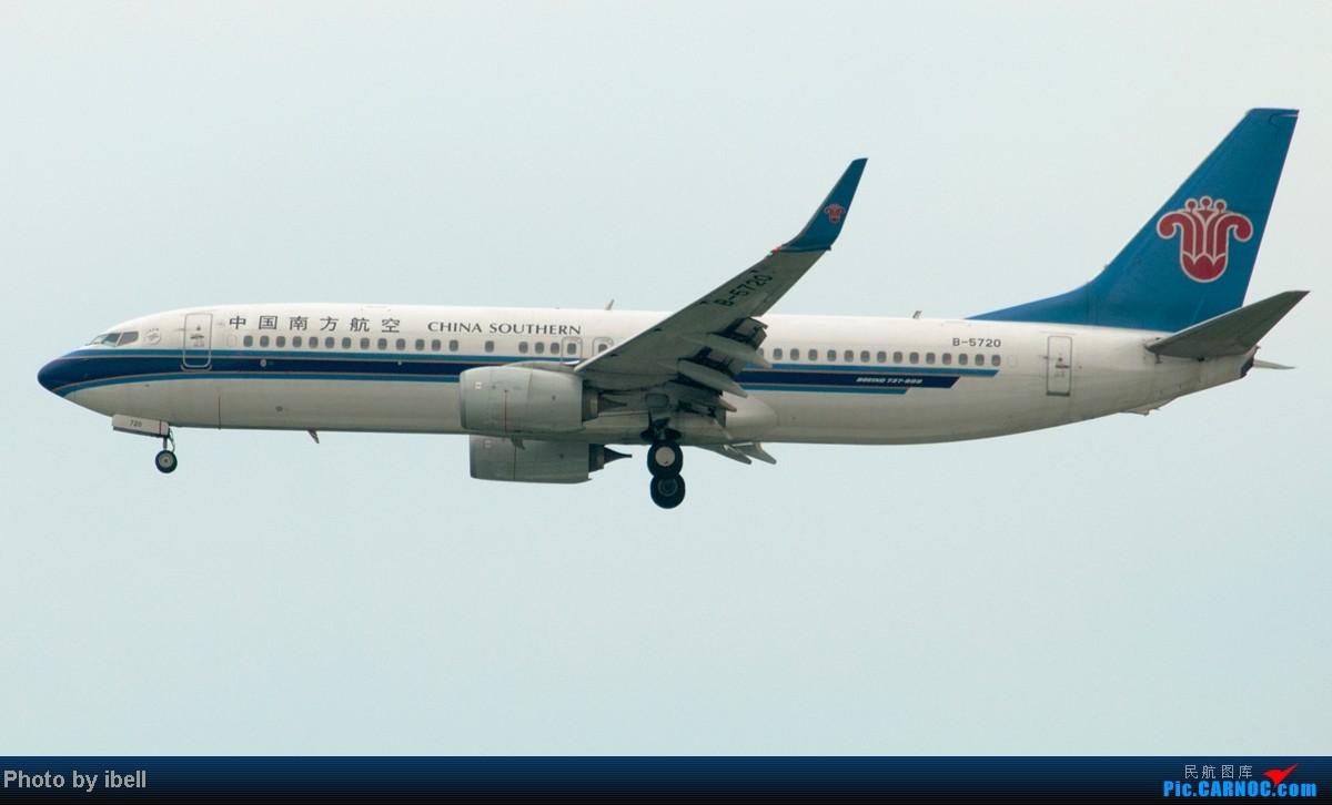 Re:[原创]【SIN樟宜拍机】从ATR到Airbus再到Boeing,包括788,748,更有首都航空! BOEING 737-800 B-5720 新加坡樟宜机场