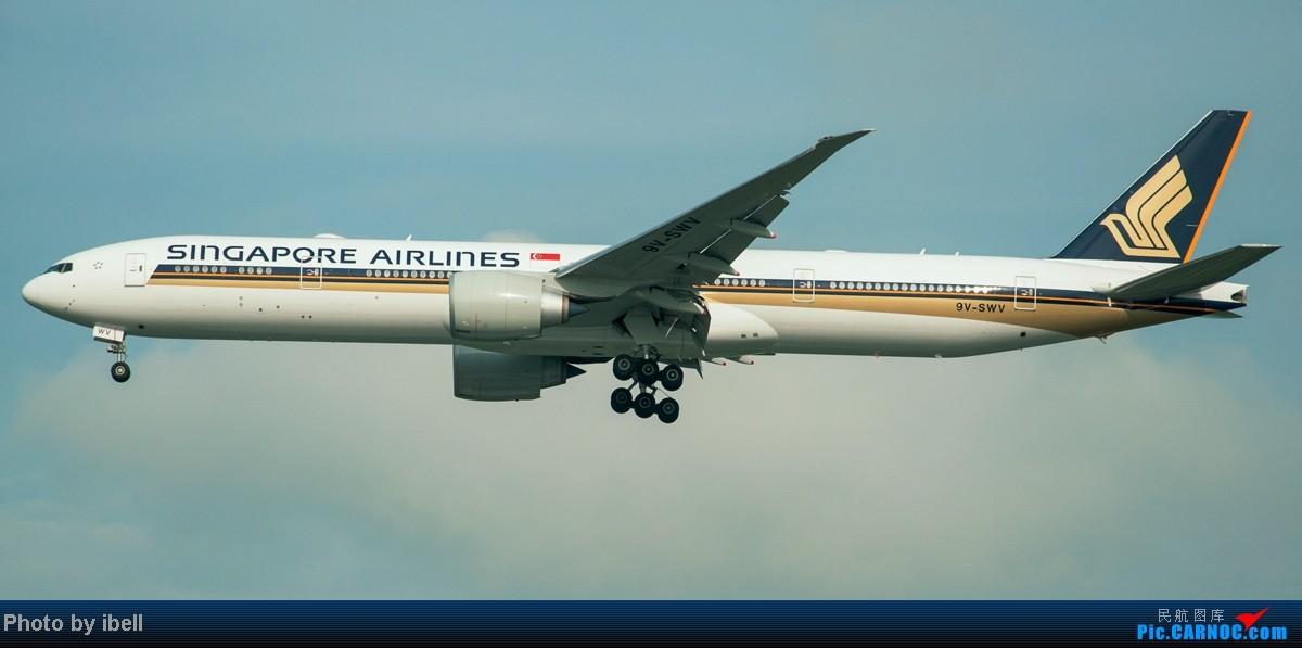 Re:[原创]【SIN樟宜拍机】从ATR到Airbus再到Boeing,包括788,748,更有首都航空! BOEING 777-312(ER) 9V-SWV 新加坡樟宜机场