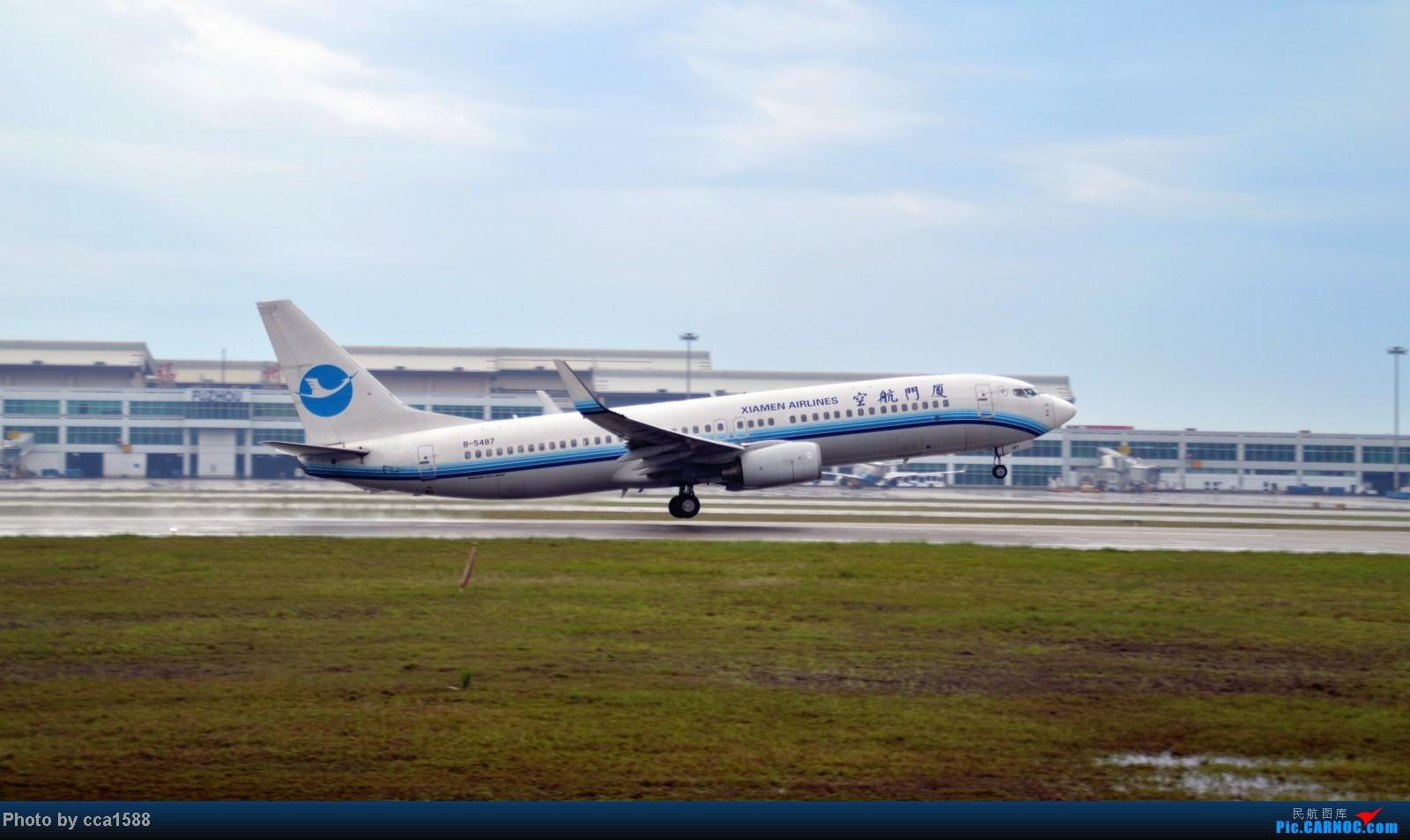 Re:[原创]4.26FOC拍机--烂天出好机,各种奇葩货~~ BOEING 737-800 B-5487 中国福州长乐机场