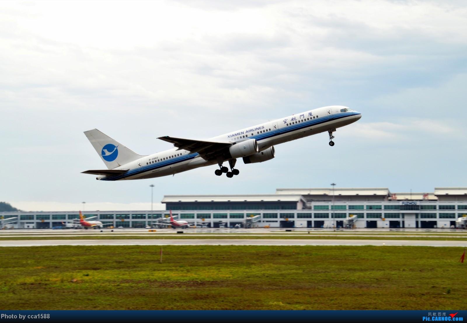 Re:[原创]4.26FOC拍机--烂天出好机,各种奇葩货~~ BOEING 757-200 B-2862 中国福州长乐机场