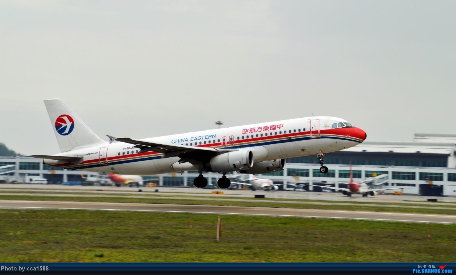 Re:[原创]4.26FOC拍机--烂天出好机,各种奇葩货~~ AIRBUS A320-200 B-6635 中国福州长乐机场
