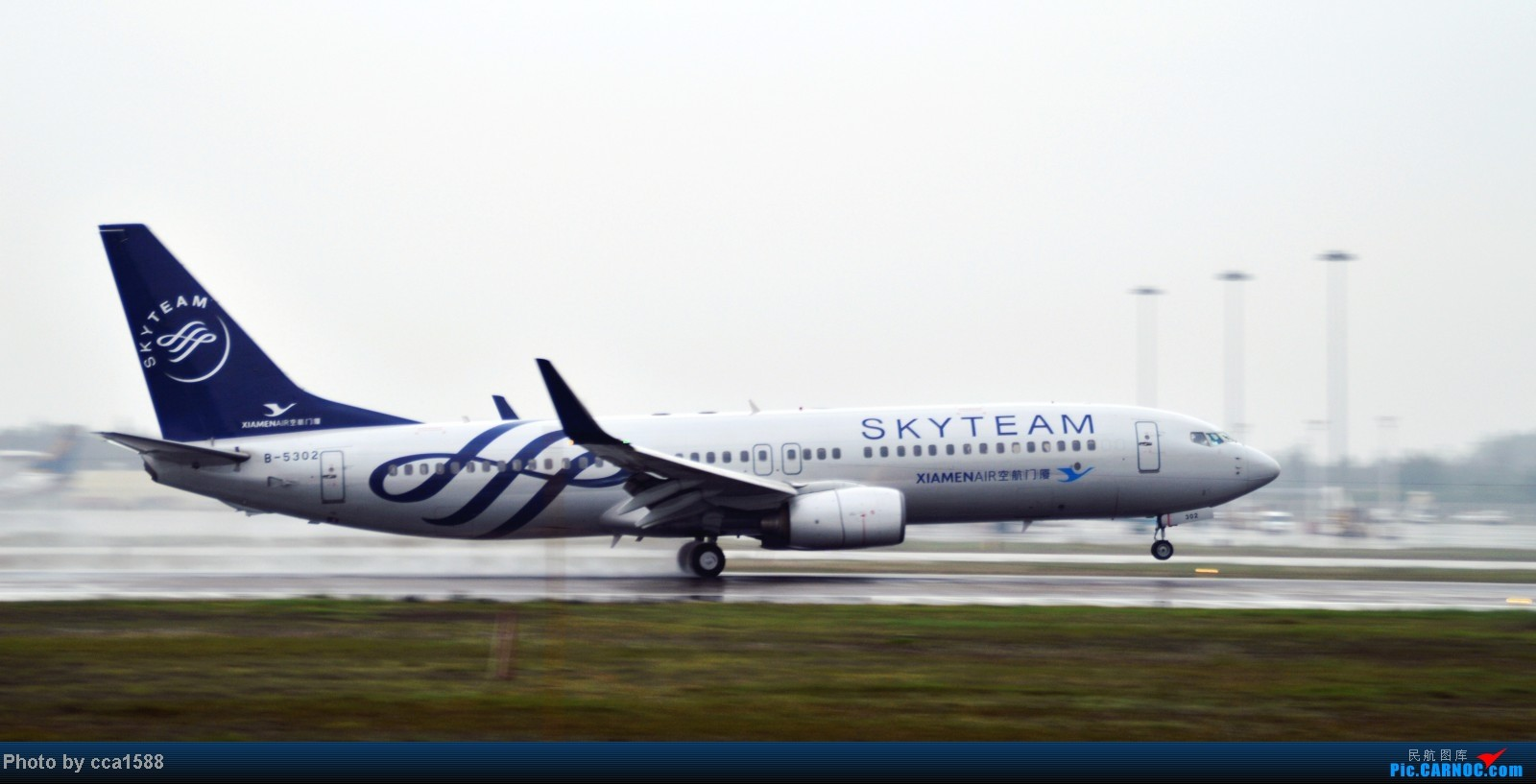 Re:[原创]4.26FOC拍机--烂天出好机,各种奇葩货~~ BOEING 737-800 B-5302 中国福州长乐机场