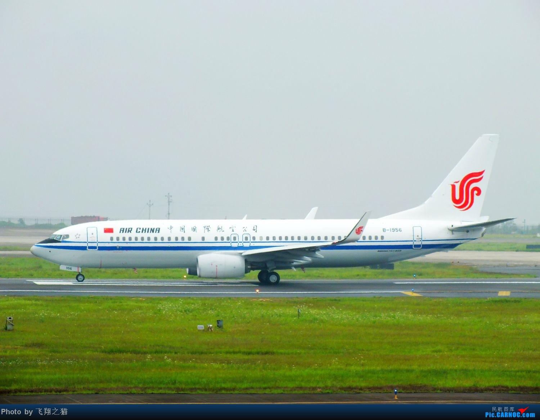 Re:[原创]CKG周末拍机(汉莎MD11F,国航重庆分公司新机1956,英安新舟60)) BOEING 737-800 B-1956 重庆江北国际机场