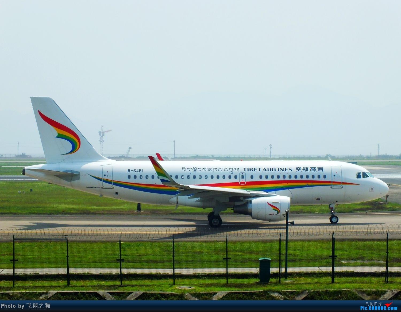 Re:[原创]CKG拍机(五一要到来,劳作在机场,为迎熊猫机,晒掉几层皮} AIRBUS A319 B-6451 重庆江北国际机场
