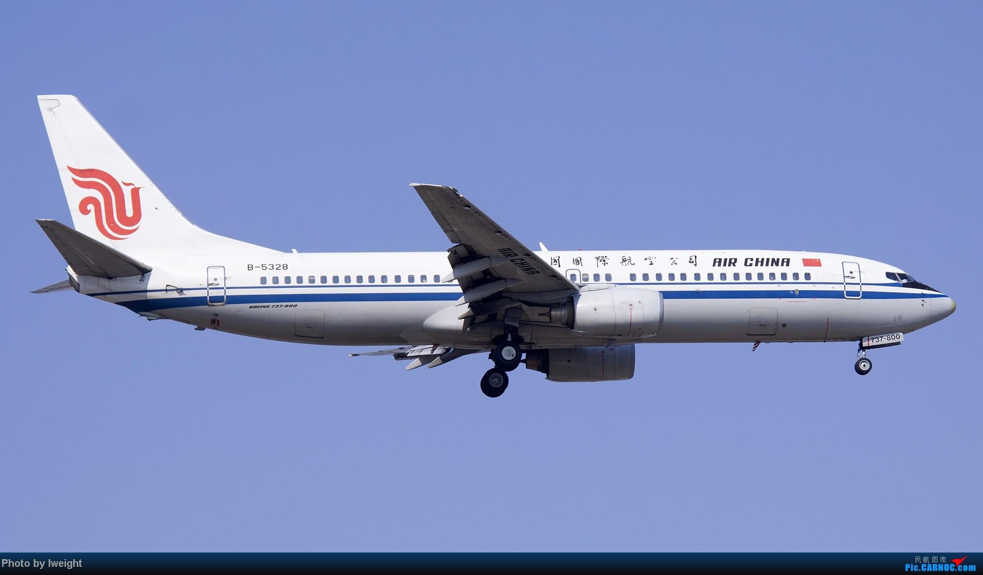 Re:[原创]北京难得的好天气,收获多种机型和彩绘,遗憾的是再次错过卡航巴塞罗那彩绘 BOEING 737-800 B-5328 中国北京首都机场