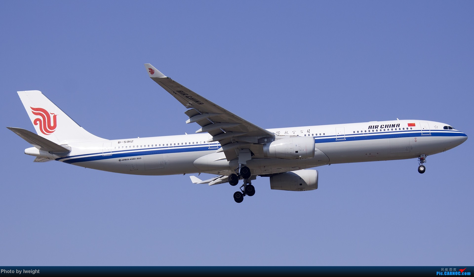 Re:[原创]北京难得的好天气,收获多种机型和彩绘,遗憾的是再次错过卡航巴塞罗那彩绘 AIRBUS A330-300 B-5912 中国北京首都机场