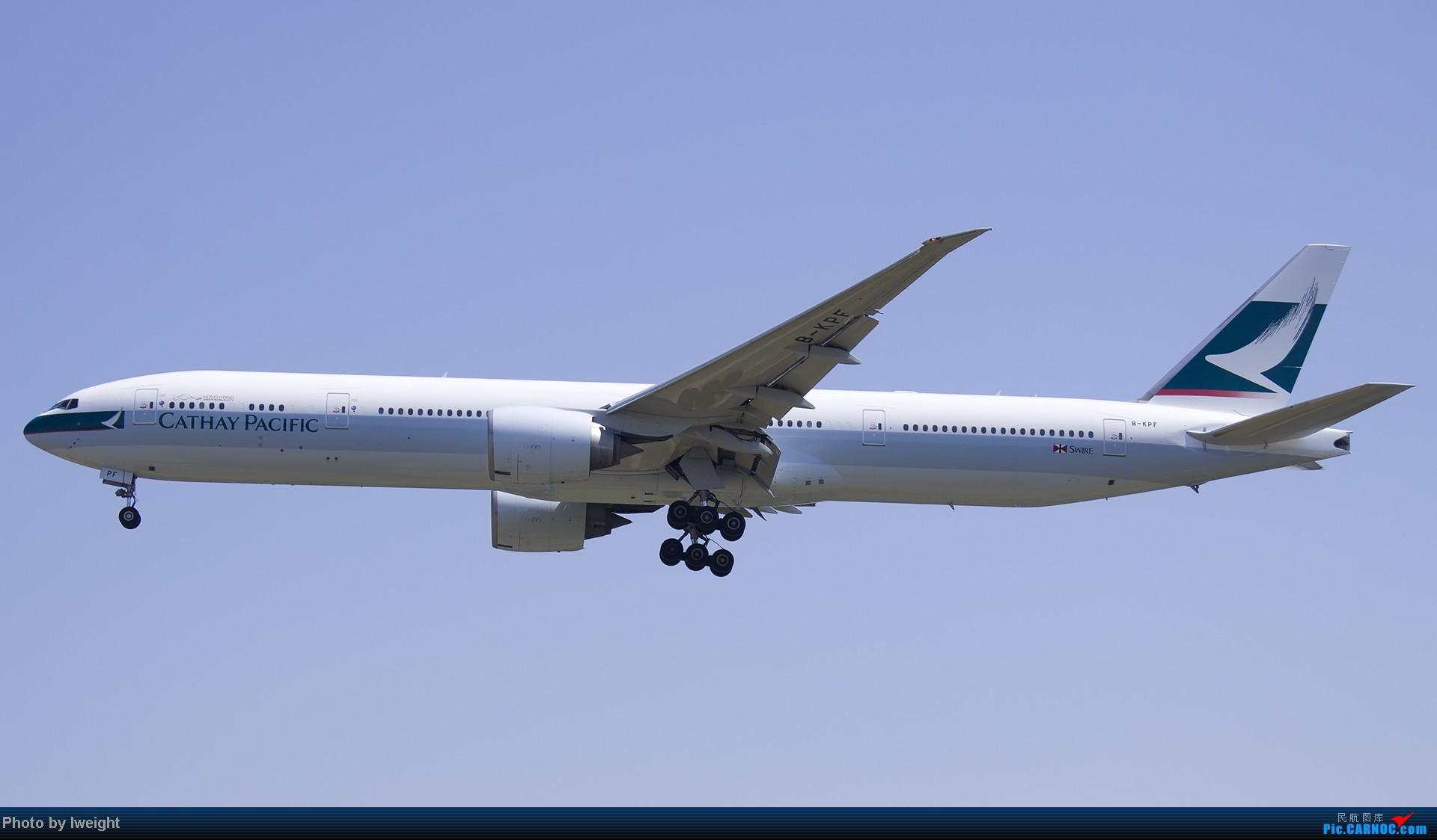 Re:[原创]北京难得的好天气,收获多种机型和彩绘,遗憾的是再次错过卡航巴塞罗那彩绘 BOEING 777-300 B-KPF 中国北京首都机场