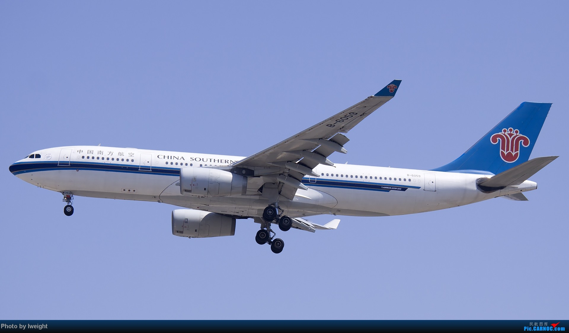 Re:[原创]北京难得的好天气,收获多种机型和彩绘,遗憾的是再次错过卡航巴塞罗那彩绘 AIRBUS A330-200 B-6059 中国北京首都机场