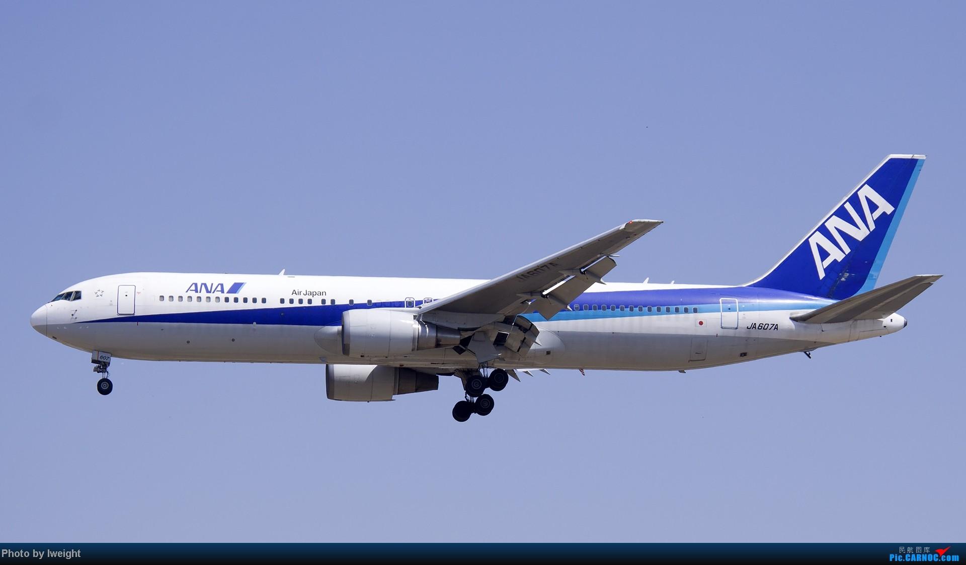 Re:[原创]北京难得的好天气,收获多种机型和彩绘,遗憾的是再次错过卡航巴塞罗那彩绘 BOEING 767-300 JA607A 中国北京首都机场