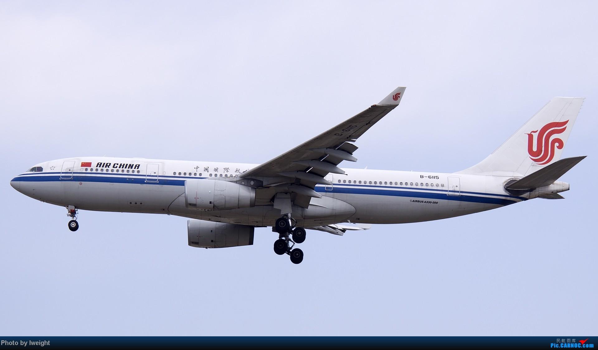 Re:[原创]北京难得的好天气,收获多种机型和彩绘,遗憾的是再次错过卡航巴塞罗那彩绘 AIRBUS A330-200 B-6115 中国北京首都机场