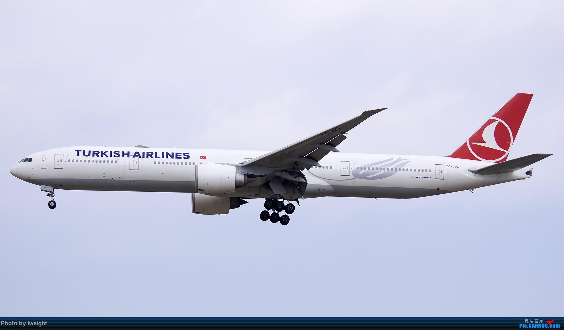 Re:[原创]北京难得的好天气,收获多种机型和彩绘,遗憾的是再次错过卡航巴塞罗那彩绘 BOEING 777-300 TC-JJG 中国北京首都机场