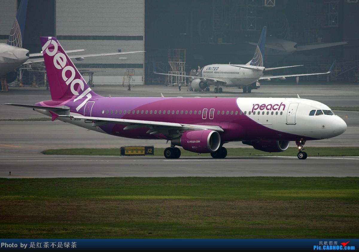 Re:[原创]【红茶拍机】五一香港拍机行,天很烂,好货很多! AIRBUS A320-200 JA811P 中国香港赤鱲角机场