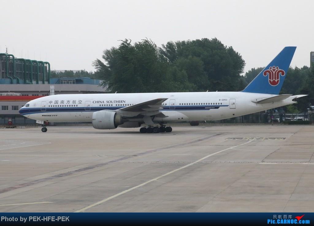 Re:[AutumnKwok]5.1最后一天依然机场走一趟,连续四天去机场~成龙私人机近照,棒子图204 BOEING 777-200 B-2053 PEK