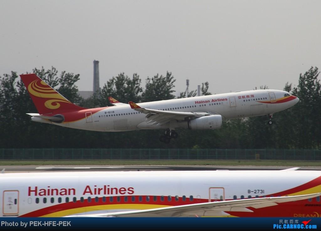 Re:[原创][AutumnKwok]5.1最后一天依然机场走一趟,连续四天去机场~成龙私人机近照,棒子图204 AIRBUS A330-200 B-6118 PEK