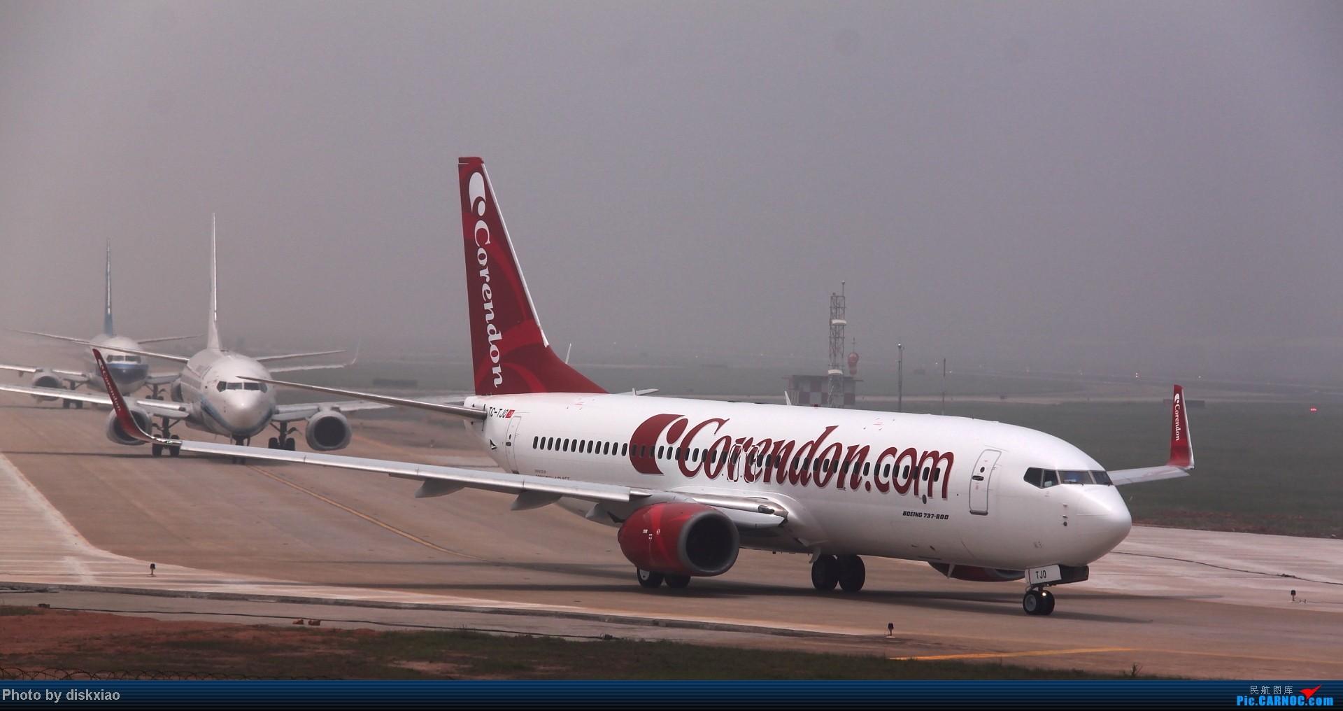 [原创]【厦门飞友会】土耳其廉价航空corendon 在厦门 BOEING 737-800 TC-TJO 中国厦门高崎机场
