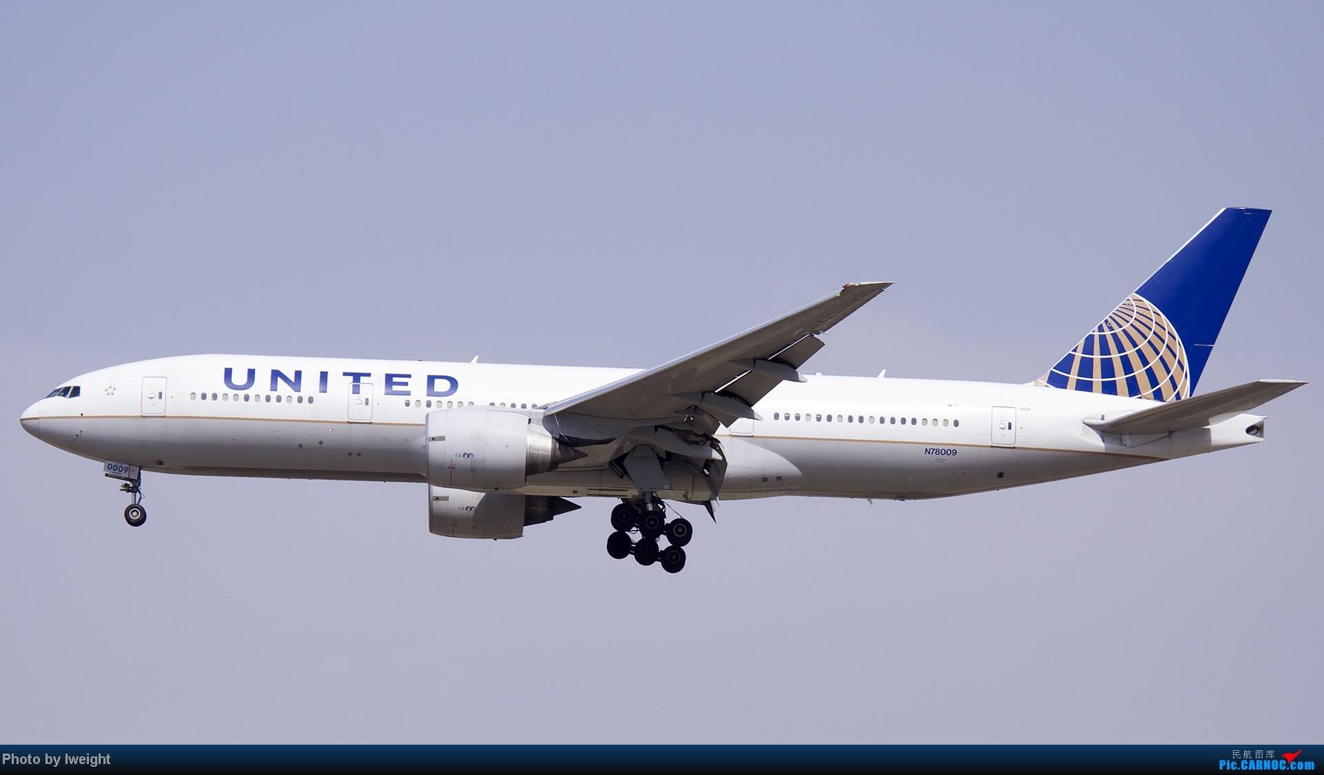Re:[原创]5月3日首都机场风云变幻的下午 BOEING 777-200 N78009 中国北京首都机场