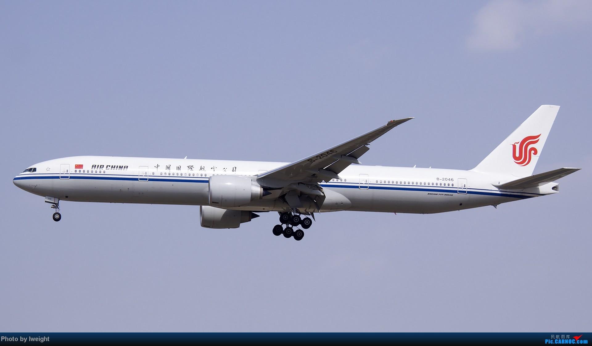 Re:[原创]5月3日首都机场风云变幻的下午 BOEING 777-300 B-2046 中国北京首都机场