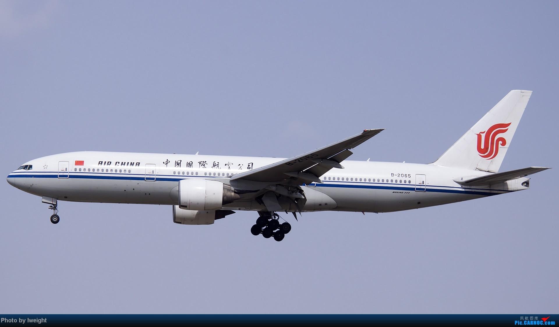 Re:[原创]5月3日首都机场风云变幻的下午 BOEING 777-200 B-2065 中国北京首都机场