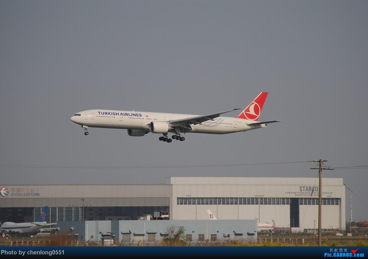 Re:[原创]【合肥飞友会】第一次到PVG拍飞机 都是好货啊! 777 TC-JJH 中国上海浦东机场
