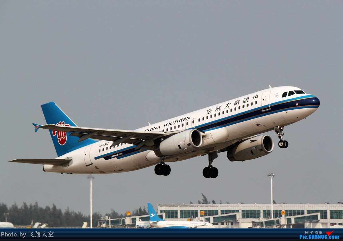 Re:【福州飞友会】长期不发图,导致拍的照片都存在电脑 现在发第二弹!o(╯□╰)o  AIRBUS A320-200 B-6813 中国福州长乐机场