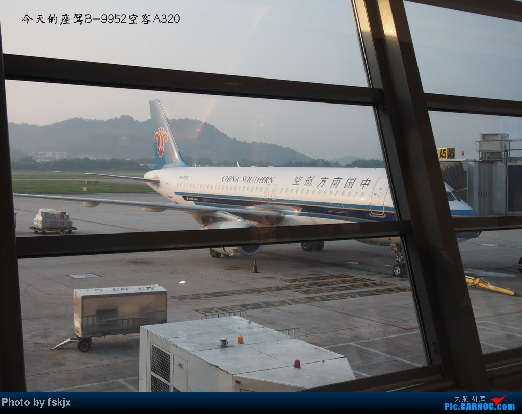【fskjx的飞行游记☆8】:休闲兰卡威,色彩槟城(下集) AIRBUS A320-200 B-9952 马来西亚槟城机场