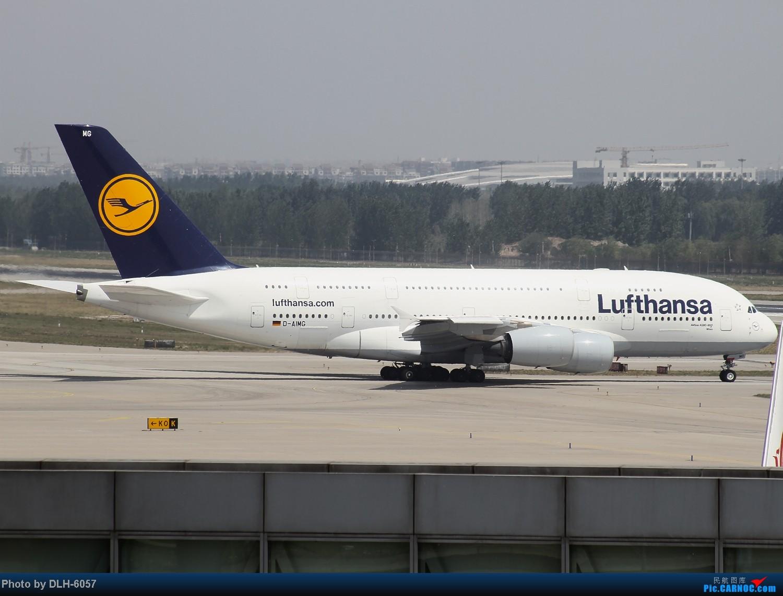 Re:[原创]5月份冒泡发帖~今日大丰收~ AIRBUS A380 D-AIMG 中国北京首都机场