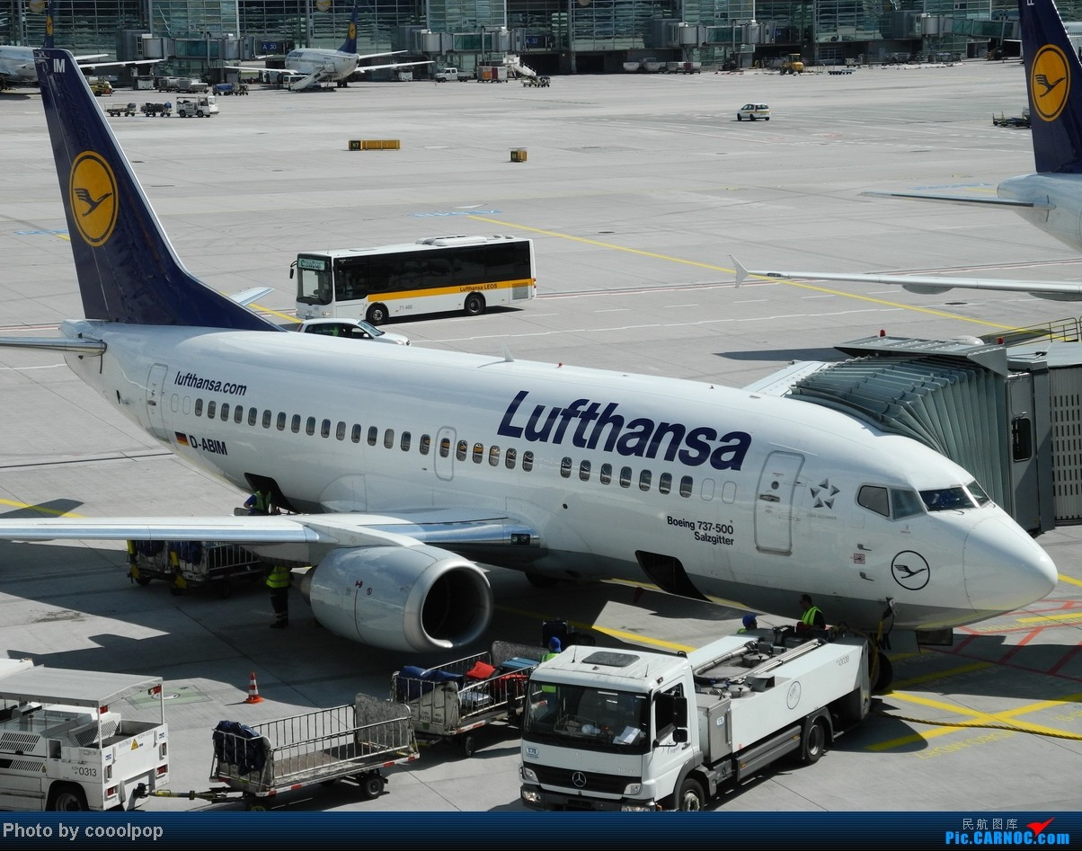 Re:[原创]一个人的 爱琴海 ! B737-500 D-ABIM 德国法兰克福机场