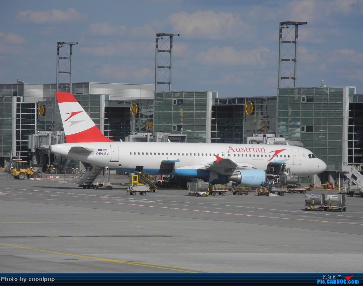 Re:[原创]一个人的 爱琴海 ! A320 OE-LBV 德国法兰克福机场