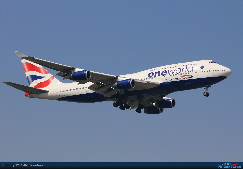 [原创]大英one world BOEING 747-400 G-CIVD PEK
