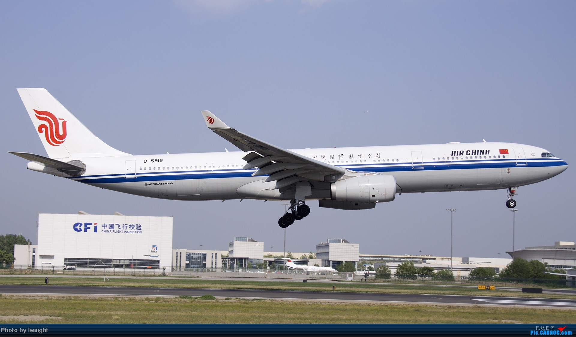 Re:[原创]5月12日PEK好天从01→19→18R AIRBUS A330-300 B-5919 中国北京首都机场