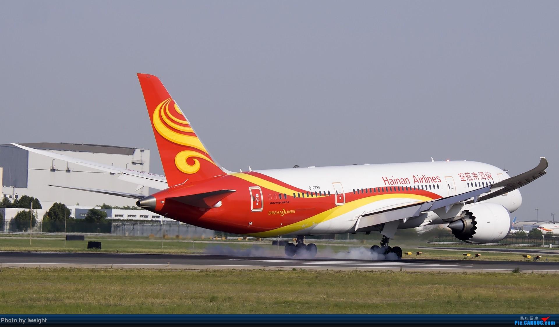 Re:[原创]5月12日PEK好天从01→19→18R BOEING 787-8 B-2730 中国北京首都机场