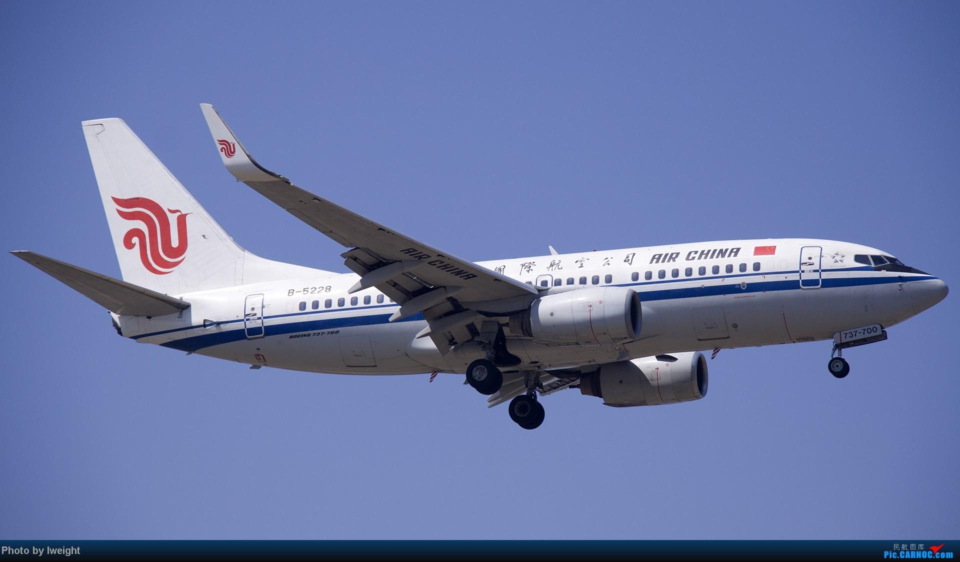Re:[原创]5月12日PEK好天从01→19→18R BOEING 737-700 B-5228 中国北京首都机场