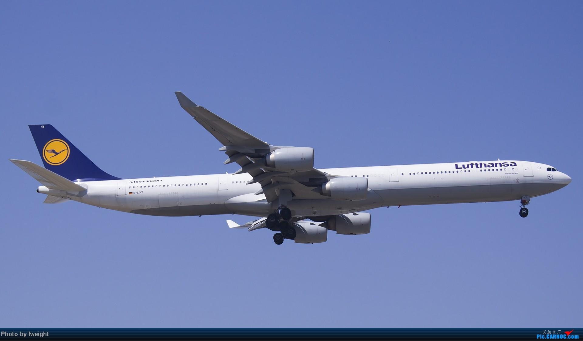 Re:[原创]5月12日PEK好天从01→19→18R AIRBUS A340-600 D-AIHV 中国北京首都机场