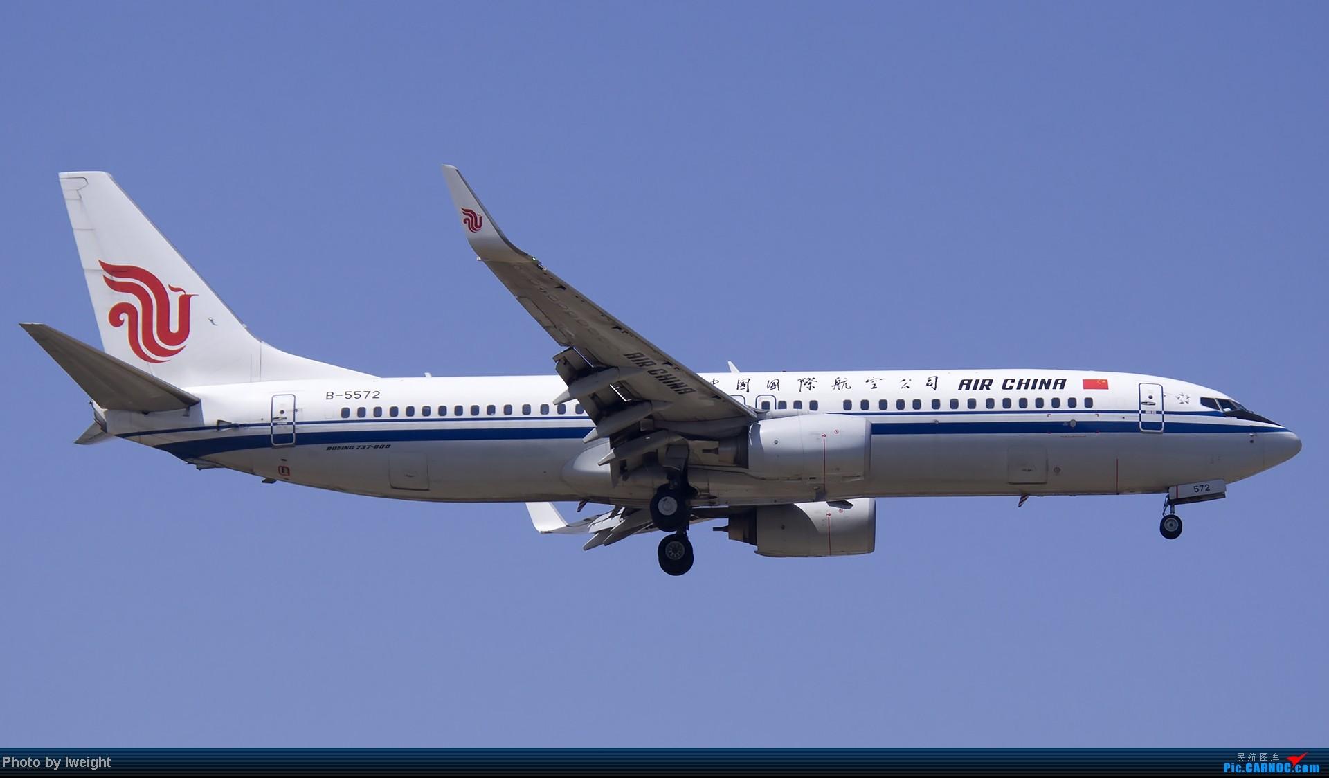 Re:[原创]5月12日PEK好天从01→19→18R BOEING 737-800 B-5572 中国北京首都机场