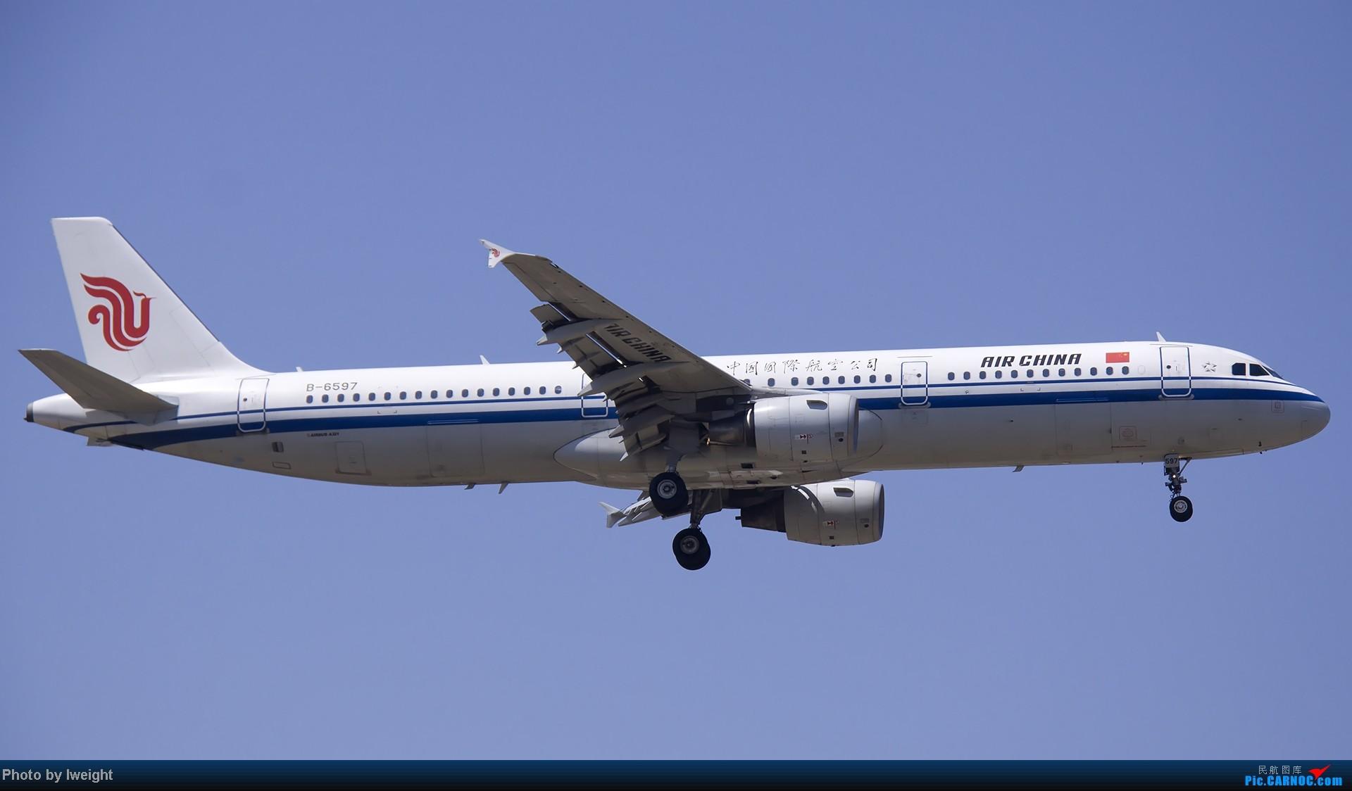 Re:[原创]5月12日PEK好天从01→19→18R AIRBUS A321 B-6597 中国北京首都机场