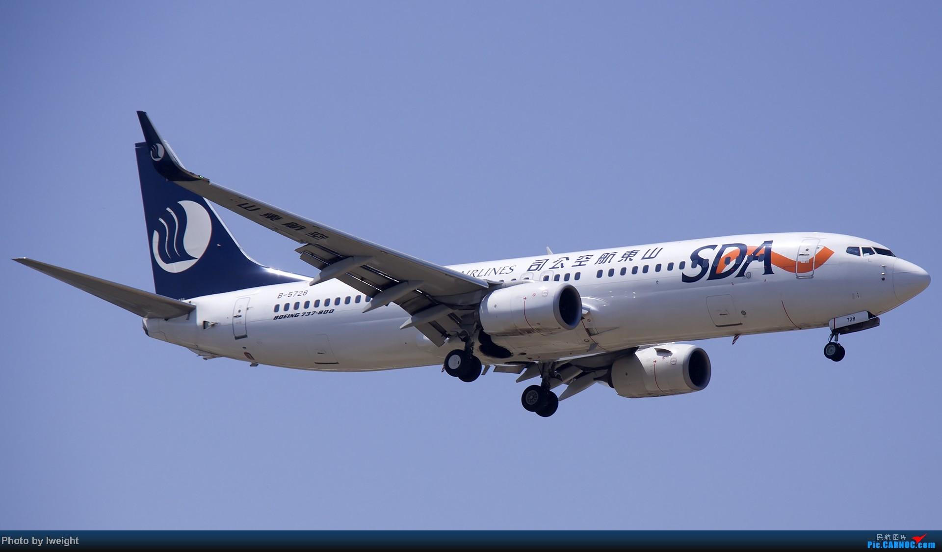 Re:[原创]5月12日PEK好天从01→19→18R BOEING 737-800 B-5728 中国北京首都机场