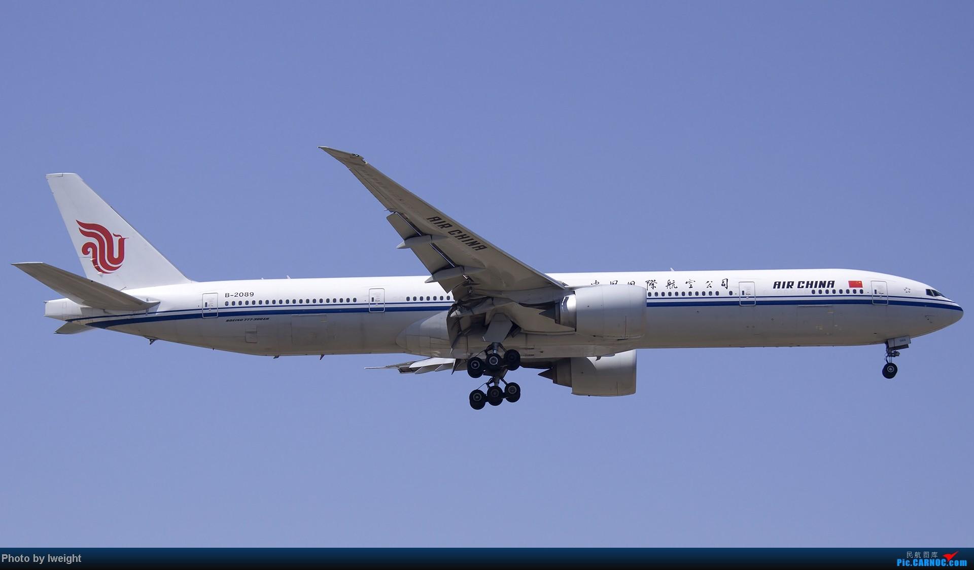 Re:[原创]5月12日PEK好天从01→19→18R BOEING 777-300 B-2089 中国北京首都机场