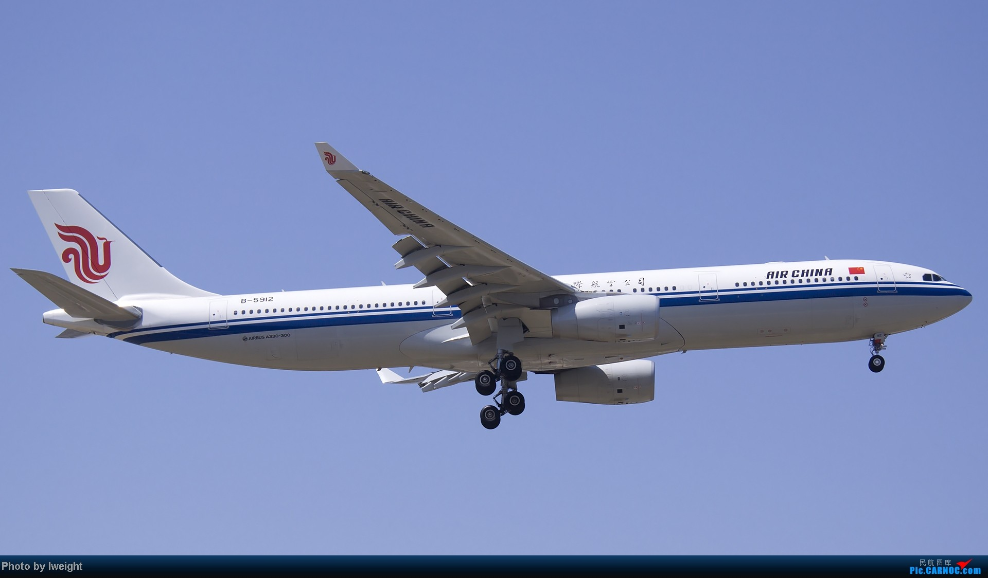Re:[原创]5月12日PEK好天从01→19→18R AIRBUS A330-300 B-5912 中国北京首都机场