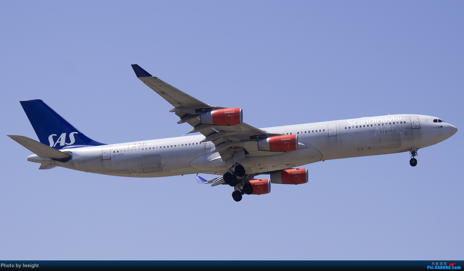 Re:[原创]5月12日PEK好天从01→19→18R AIRBUS A340-300 OY-KBC 中国北京首都机场