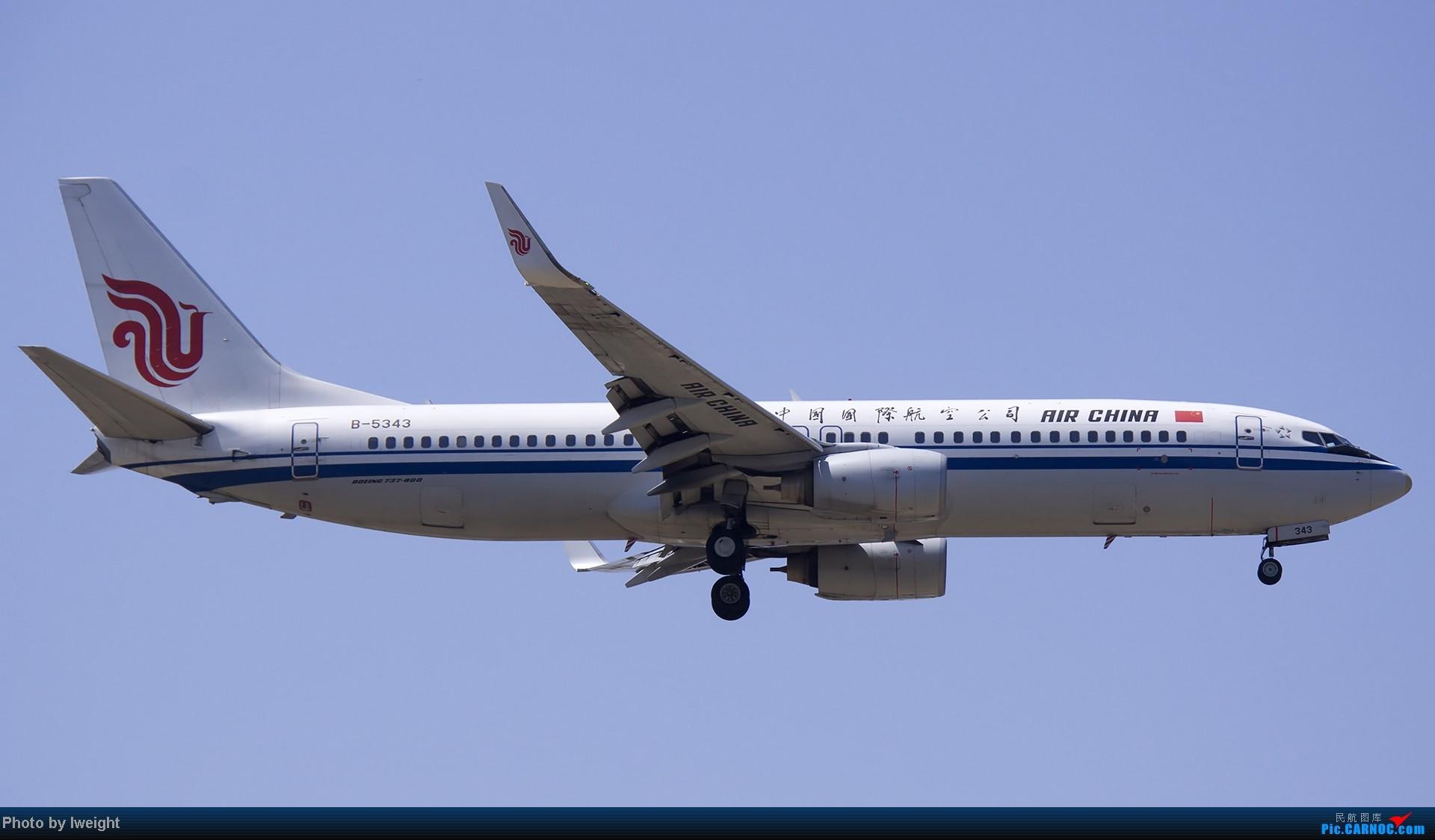 Re:[原创]5月12日PEK好天从01→19→18R BOEING 737-800 B-5343 中国北京首都机场