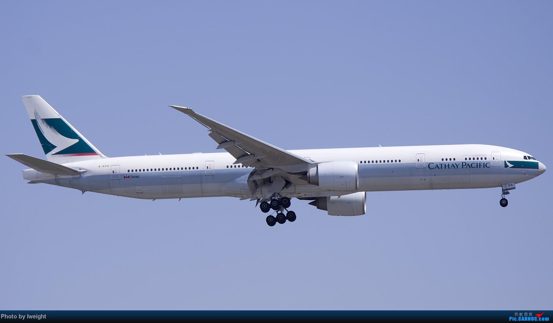 Re:[原创]5月12日PEK好天从01→19→18R BOEING 777-300 B-KPS 中国北京首都机场