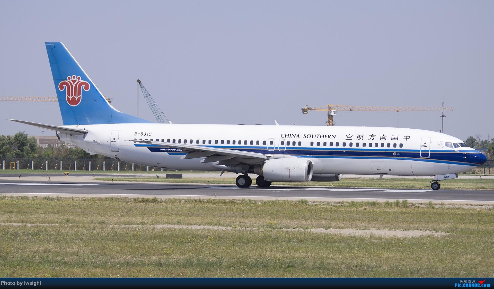 Re:[原创]5月12日PEK好天从01→19→18R BOEING 737-800 B-5310 中国北京首都机场