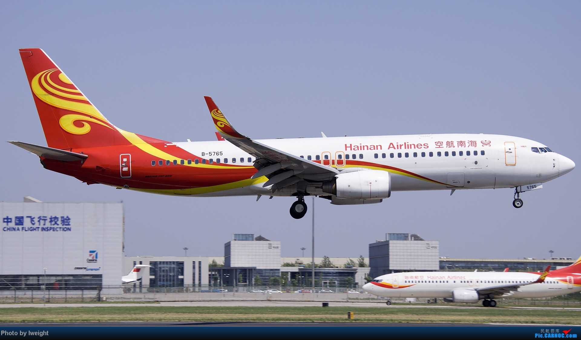 Re:[原创]5月12日PEK好天从01→19→18R BOEING 737-800 B-5765 中国北京首都机场